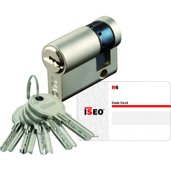 Half cylinder ISEO R6