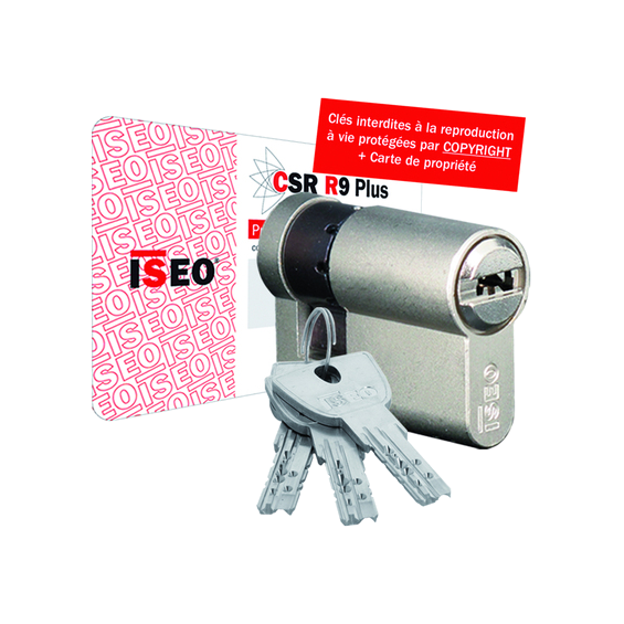 Half cylinder ISEO R9 Plus