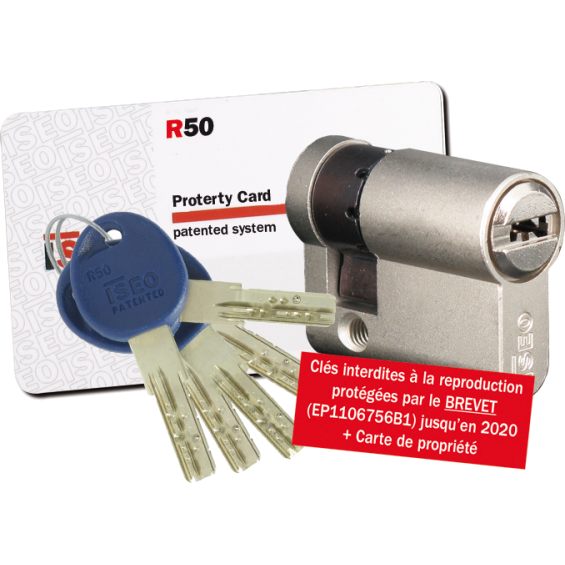 Half Cylinder ISEO R50