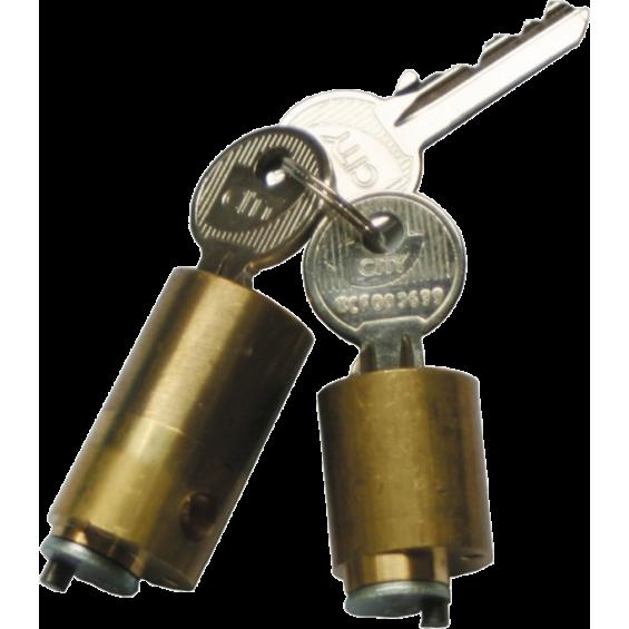 Cylinder set for lock CITY