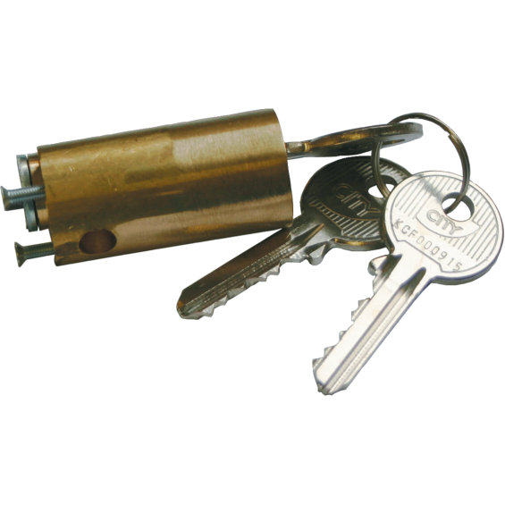 Simple cylinder for CITY lock