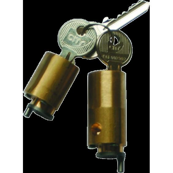 ISEO cylinder set for Zenith lock