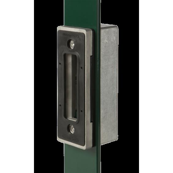 Keeper for Locinox sliding gate lock