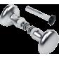 Aluminum button handle kit