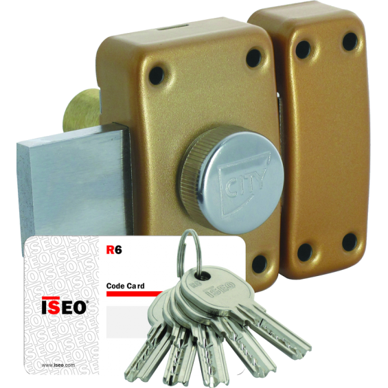 ISEO City 26 button lock