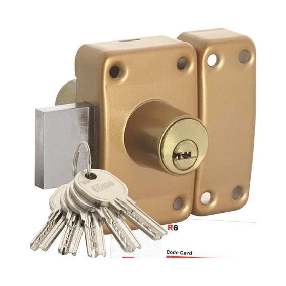 ISEO City 26 double input lock