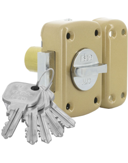ISEO F9 button lock