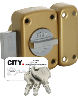 ISEO Cavith button lock