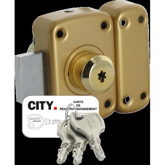 ISEO Cavith double input lock