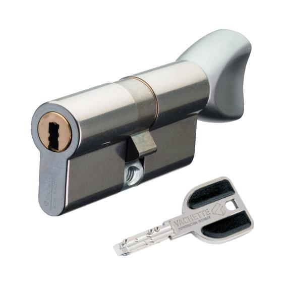European cylinder VACHETTE RADIALis à bouton