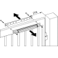 DCAC630 retrofit kit for DC620G / DC650G / DC680G gate closer