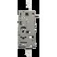 Lock mechanism Montage à blanc FICHET Vertipoint T à profil rond