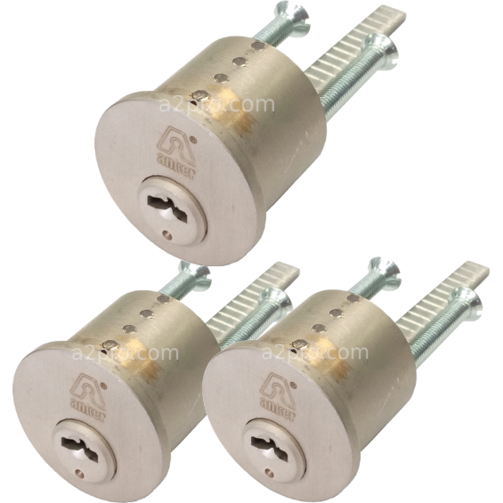 Set of 3 MAGNET 3800 cylinders with tongue