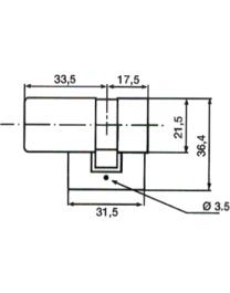 BRICARD Bloctout demi cylindre
