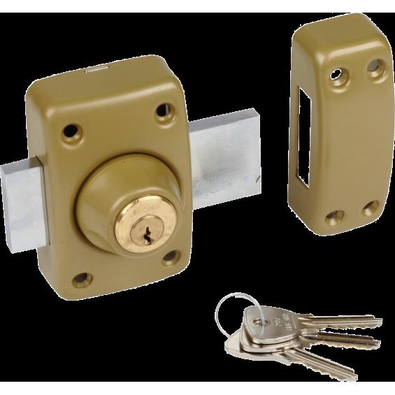Lock BRICARD Alpha double entries