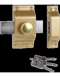 BRICARD à bouton et cylindre Supersûreté à Bouton