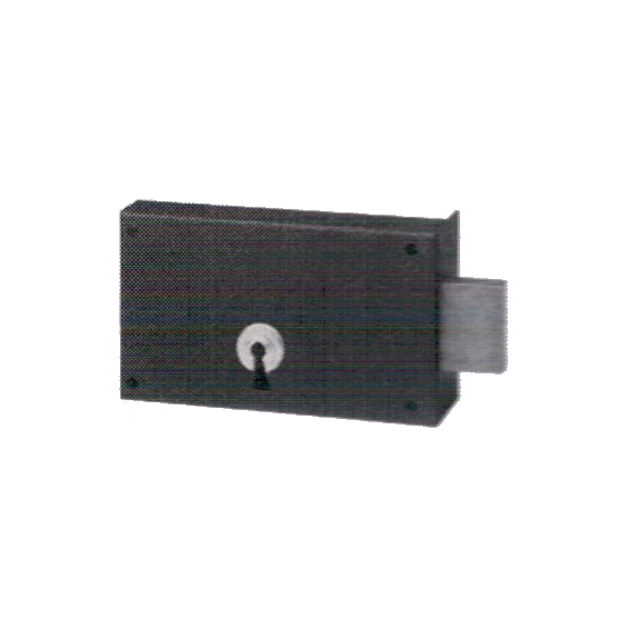 Wall-mounted lock BRICARD Série 606 (pour cave)