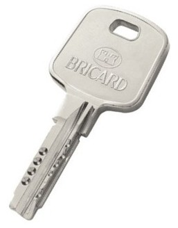 Supplementary Bricard Key Clé supplémentaire BRICARD Serial XP