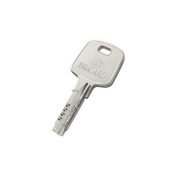 Supplementary Bricard Key Clé supplémentaire BRICARD Serial XP