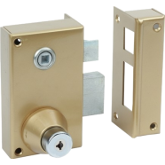 Surface mounted single point lock
