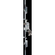 Recessed multi-point lock