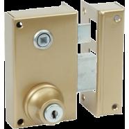 Bricard surface mounted single point lock