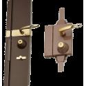 Wall-mounted lock