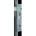 Single point recessed lock